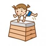 《3月16日》守山市民体育館で「キッズスポーツタイム」が開催!跳び箱や鉄棒などの器械運動を体験しよう!年中〜小学3年生対象♪