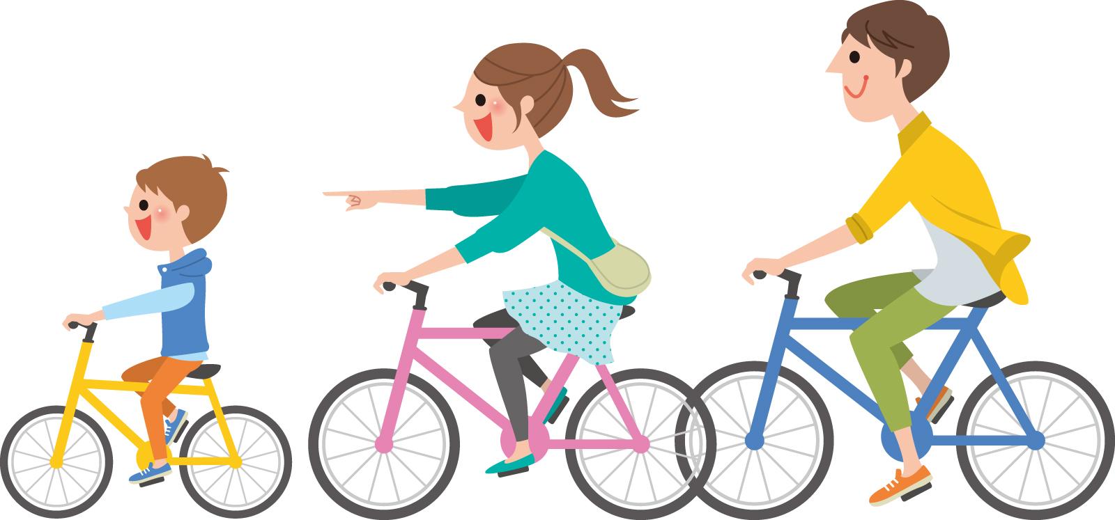 素材 サイクリング 自転車