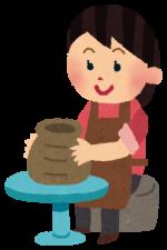 イオンモール大垣で誰でも陶芸教室が開催されます。手ロクロで作るオリジナル作品!3月16日17日