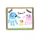 【草津市】父の日のプレゼントにもぴったり!!手形足形アートワークショップ☆2019年5月31日