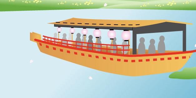 屋形船 船 疎水