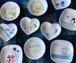 草津、近鉄百貨店にてごほうびサロン「ポーセラーツでミニ皿作り」開催!参加費500円♪