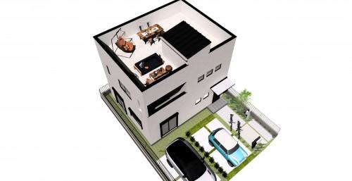 屋上庭園イメージ - コピー