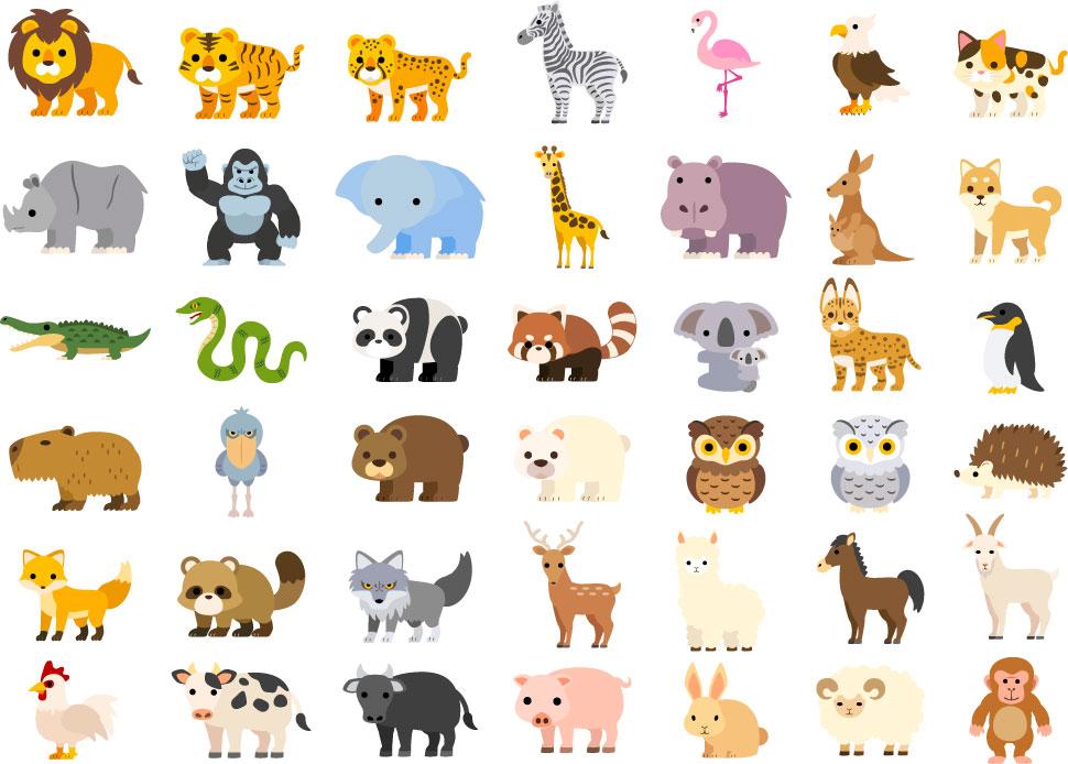 素材 動物