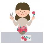6月30日 フラワーレッスン 甲西文化ホール 講師は大人気のパンとお花のお店・ウルーウールの橋本夏美さん