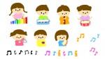 [9月25日] 高島市 0歳からの親子リトミック ふれあいクラス 10月スタート前の体験レッスン♪