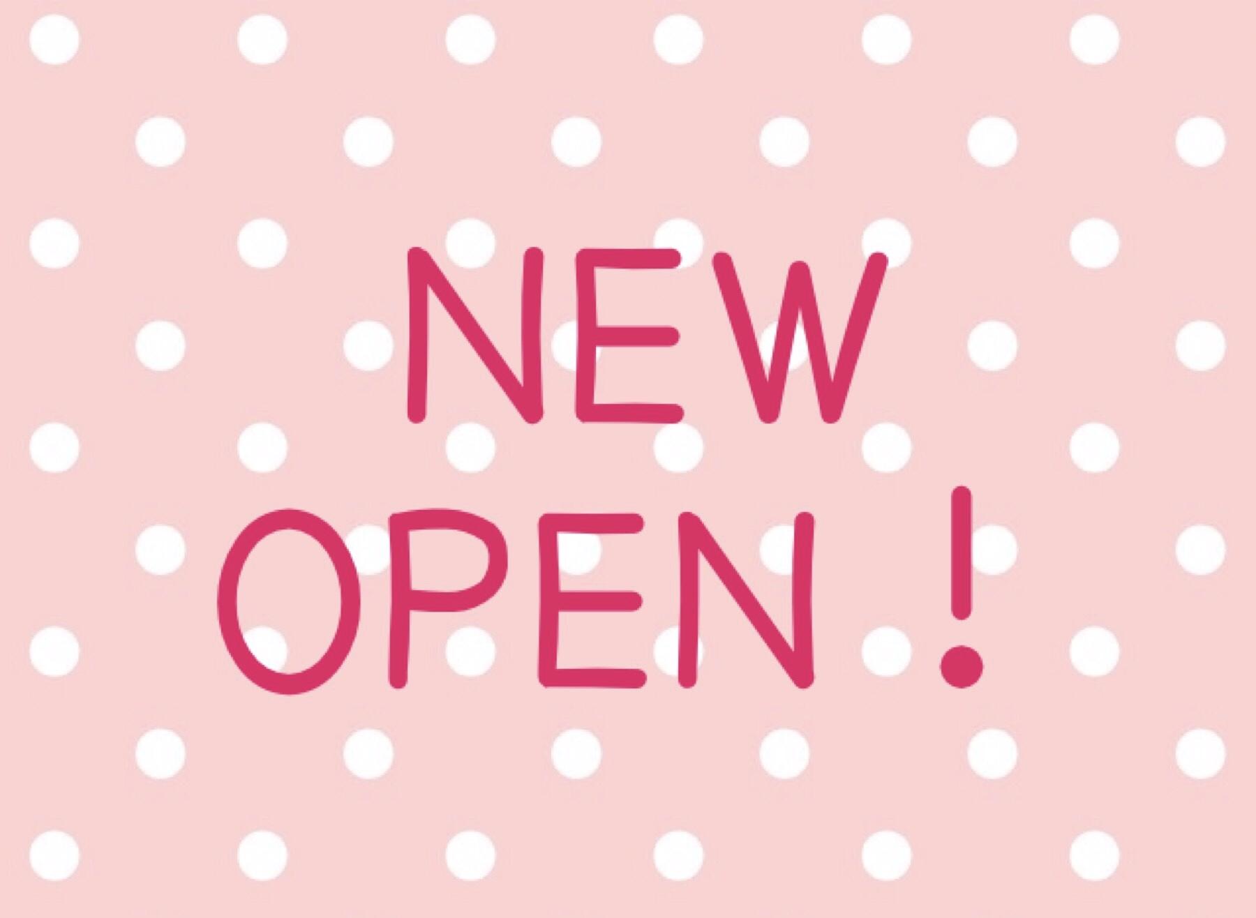OPEN 新店 オープン