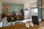 【10/5・6】オリジナルのカフェ風キッチンカウンター、洗面台。デザインはもちろん、性能にもこだわったお家を彦根で見学できます♪