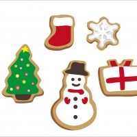 クリスマス クッキー アイシング オーナメント