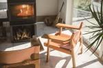 冬には薪ストーブが楽しめる。自然を感じられるモデルハウスを見てみませんか?多賀町で見学できます♪