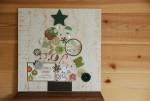 【12/14】世界にひとつ♪クリスマスツリー ボードを作ろう!子どもの写真&アーティシャルフラワーでツリーをデコ♪