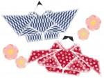《2月22日》伝承のひな人形を和紙千代紙で作ろう!東近江市で「折雛づくりとお雛さまのお話」が開催!