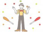 〈3/14〉春の子どもジャグリング教室★ジャグラー木下洸希さんによるショーとジャグリング教室【大津公民館】