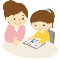 素材 タブレット 子ども 親子 プログラミング