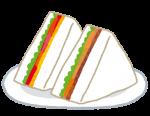 長浜市 cafe食堂calmでお持ち帰りサンドイッチランチBOXはじまりました☆親子ランチにピッタリ!3個から配達も可!2020年4月
