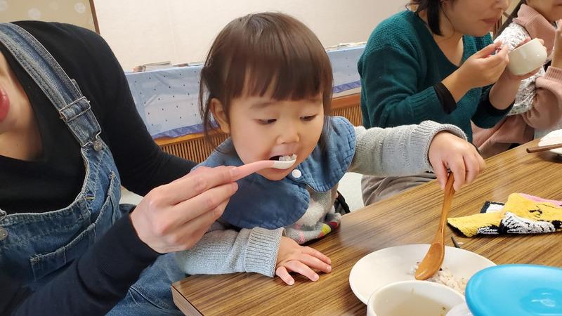 よく食べる子ども