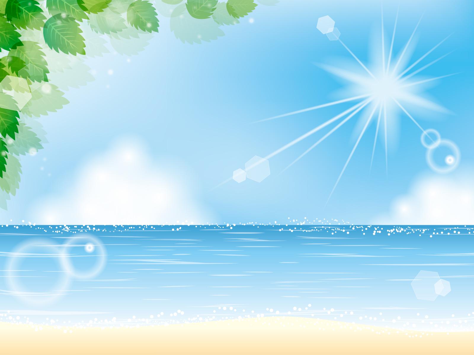 素材 夏 海 湖 びわ湖