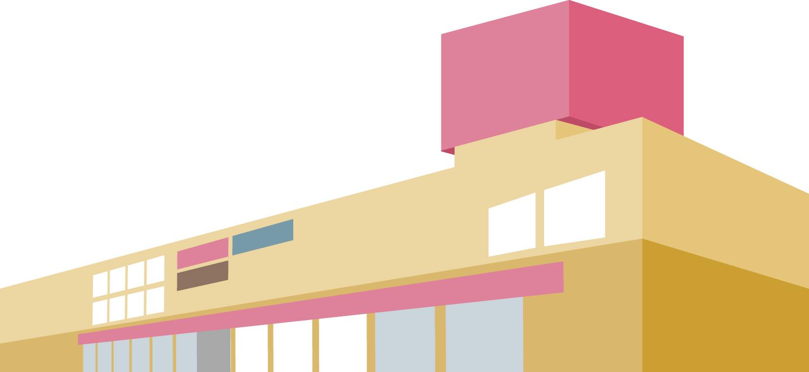 素材 ショッピングモール 買い物 建物