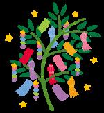 湖東三山館あいしょうで願いごと☆「七夕飾り」が6月28日~7月7日設置されます