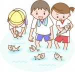《8月2日》親子で魚や昆虫を捕まえよう!草津市のロクハ公園にて「みずの日・ジャブジャブ池で魚とり」が開催!事前予約制♪