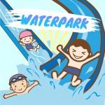 《7月18日〜》楽しいスライダーで思いっきり遊ぼう!ブルーメの丘に「ウォーターパーク」がオープン!土日祝限定♪