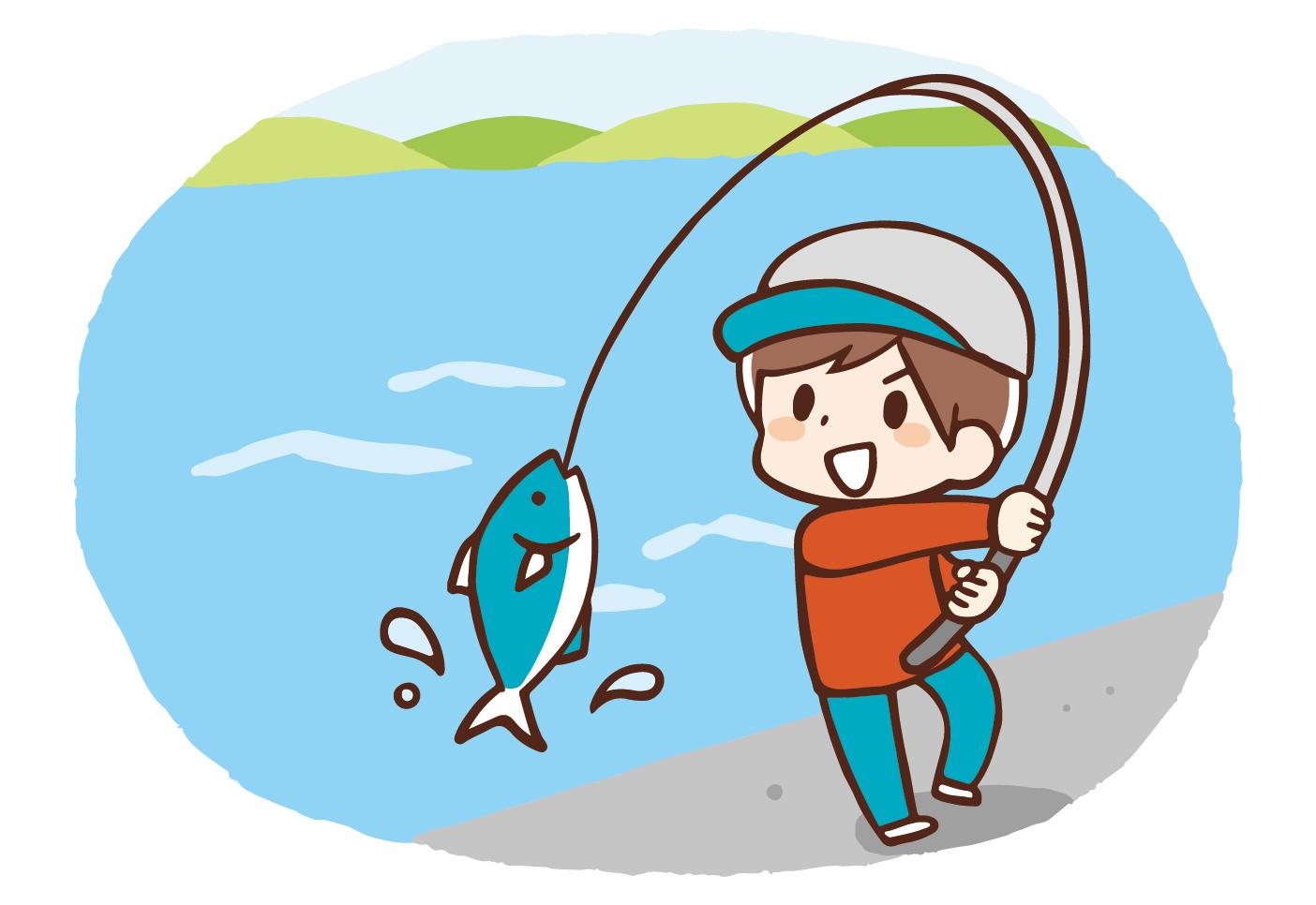 素材 釣り 魚 海 川