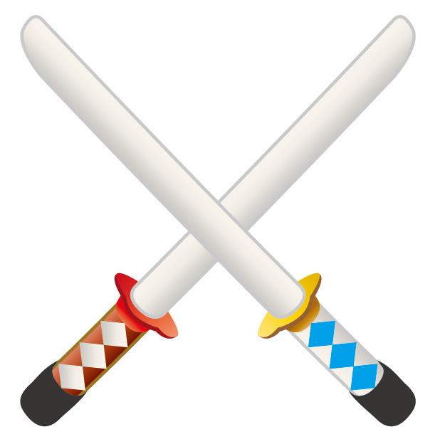 素材 刀 ちゃんばら 武士 剣