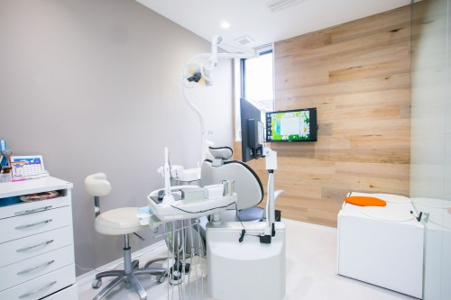 かがやき歯科室内