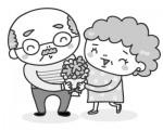 敬老の日企画【大好きなおじいちゃん、おばあちゃん】の似顔絵を描いて、参加賞をおらっちゃお!フタバヤ各店《9月16日まで》