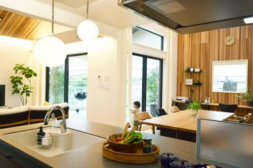 キッチンからの眺めDSC_5108