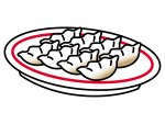 餃子の王将「生餃子スタンプキャンペーン」開催中!スタンプ25個で店内で使用しているのと同じ餃子のお皿がもらえるよ♪