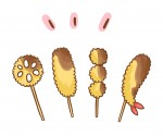 《10月5日〜16日》串カツ田中で平日限定の「秋のテイクアウトキャンペーン」が開催!200円以下の串カツが全品100円!