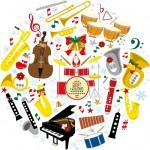 0歳から入場できる「クリスマスコンサート」。12/19シライシアター野洲にて。京都フィルハーモニー室内合奏団の演奏が聴けるよ♪