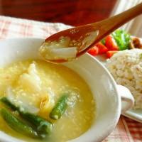 スープレッスン もちキビとジャガイモのイタリアンスープ