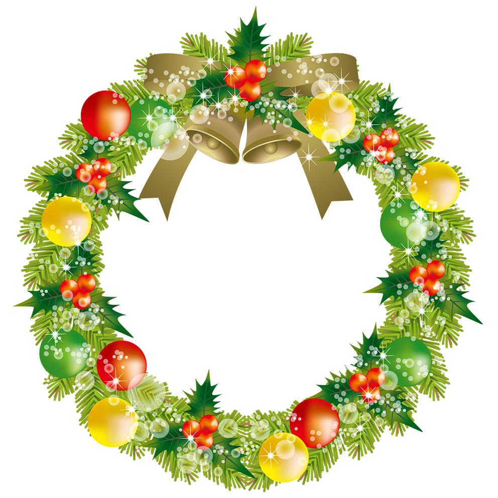 クリスマスリース48