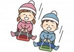 《12月12日・13日》雪の滑り台が登場!守山市のモリーブで「ソリ滑りであそぼう」が開催!参加無料♪