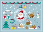 【大津市一里山】人気カフェにてクリスマスバージョンのアフタヌーンティー登場♪ママ友とご家族と美味しいティータイムはいかが♪