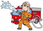【1/10】高島市で消防出初式が開催。消防車両の分列行進、一斉放水消化訓練が見られます!