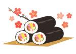 はま寿司で恵方巻の予約受付中!長さ18cm!食べさかりの子どもにぴったりの恵方巻♪