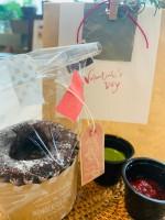 2021年1月22日より予約開始★湖南市のカフェ【SUGAR+cafe】のバレンタイン期間限定スイーツ★フォンダンショコラ 店内でも・テイクアウトでも♪