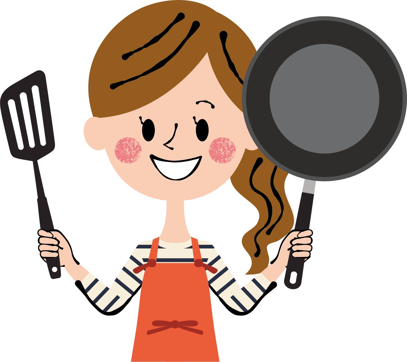素材 フライパン 料理 母 家
