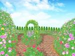 【3/1〜】びわ湖大津館のイングリッシュガーデンが営業再開します。3/1〜3/14は来園者に花の種がもらえます♪