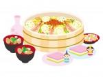 《2月26日〜3月3日》お家でひな祭りを楽しもう♪かっぱ寿司で春の訪れを感じるテイクアウトメニュー『華ひなちらし』が登場!