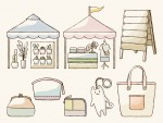 <5月8日9日>「ブランチ大津京」手作りマルシェ♪布小物やハンドメイド品などが多数出店★