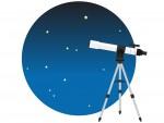 《3月18日》巨大な天体望遠鏡で夜空を観察してみよう♪ビバシティ彦根で「屋上にて月と星を見る会」が開催!