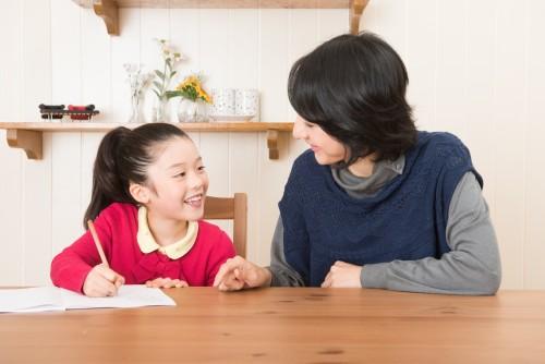 親子、家庭教師イメージ写真