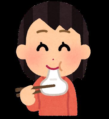syokuji_mochi_woman