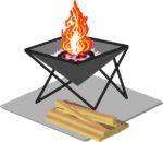 今年度も始まりました!期間限定『焚火カフェ』飲み物付きセットで焚火のぬくもりを感じよう!