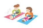 赤ちゃんとスキンシップをしながら健やかな体づくりを!赤ちゃん体操&リトミック大津の歯科医院で開催!