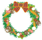 《12月5日》木の実や小枝の自然素材で可愛いリースを作ろう!野洲市の近江富士花緑公園で「クリスマスリースづくり」が開催!